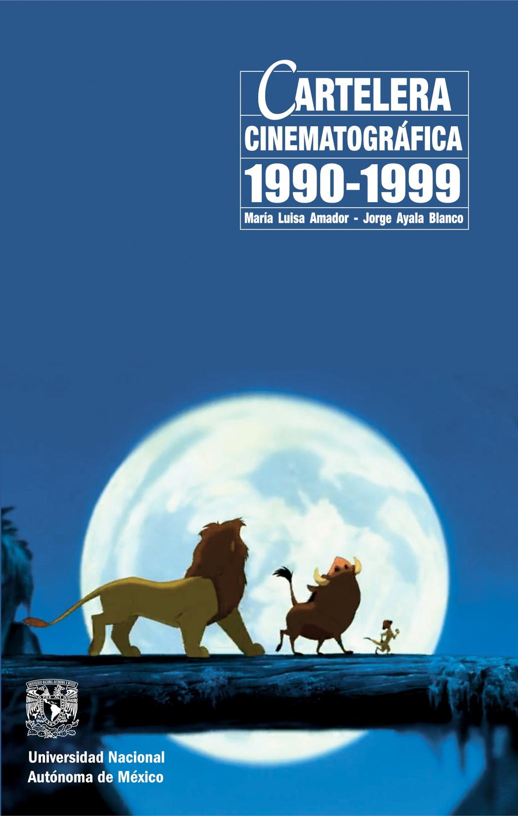 Cartelera cinematográfica 1990-1999