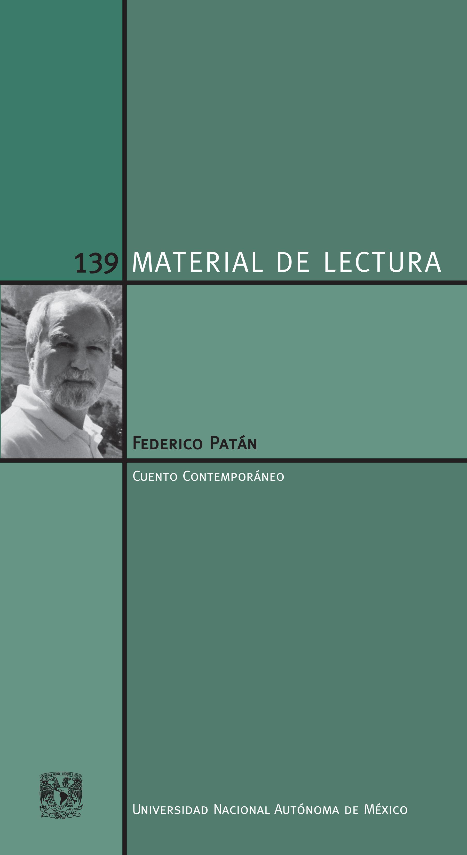 Federico Patán. Material de Lectura