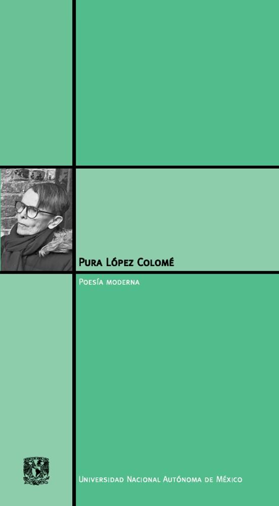 Pura López Colomé. Material de Lectura
