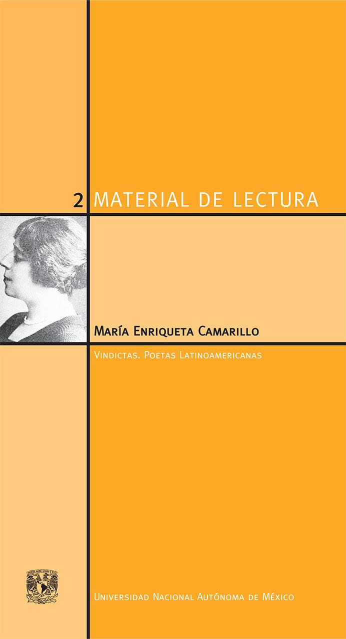 María Enriqueta Camarillo. Material de Lectura