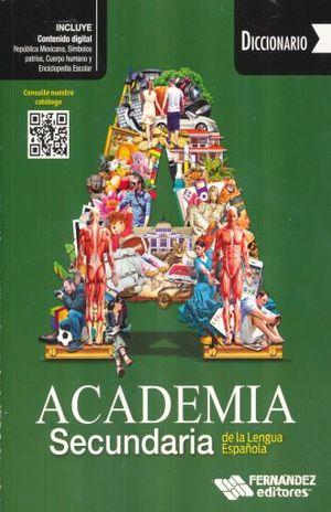 Diccionario Academia Secundaria de la Lengua Española (Verde)