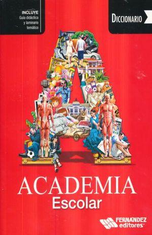Diccionario Academia Escolar (Rojo)