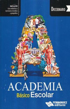 Diccionario Academia Básico Escolar (Azul)
