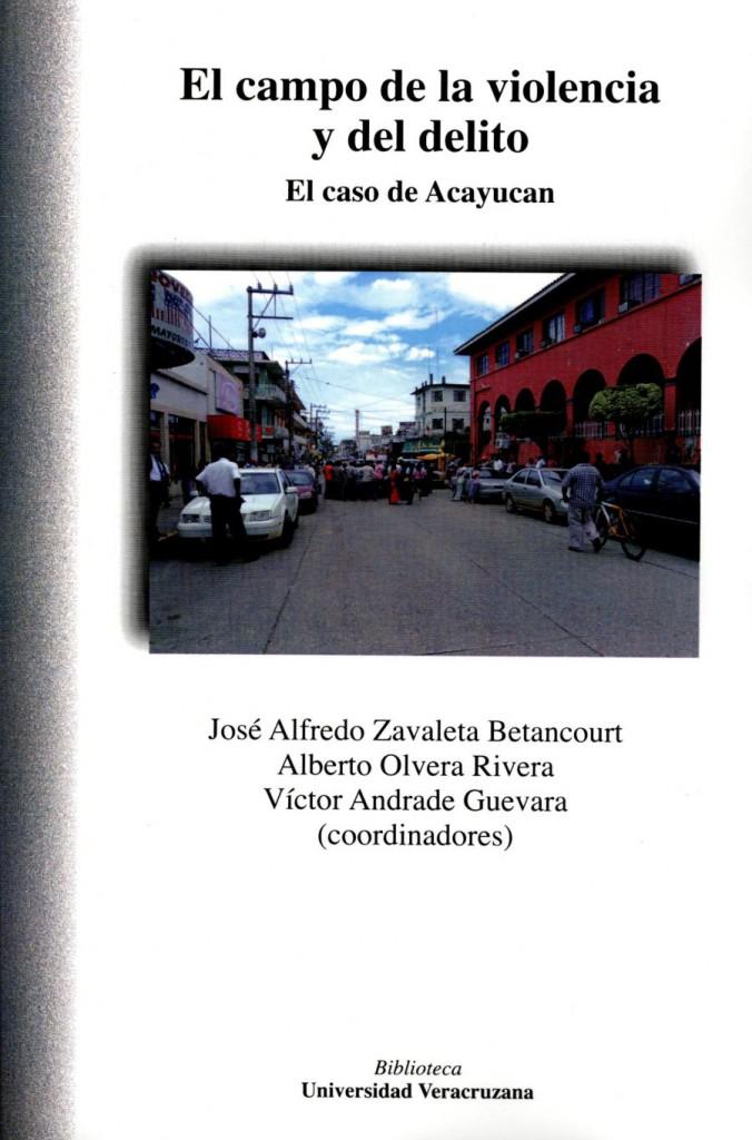 El campo de la violencia y del delito. El caso de Acayucan