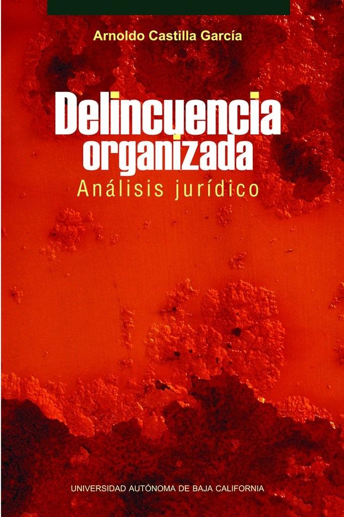 Delincuencia organizada analisis juridico