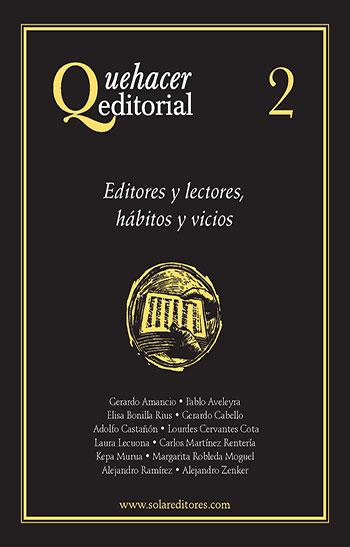 Quehacer editorial 2