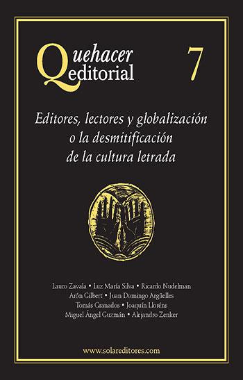 Quehacer editorial 7