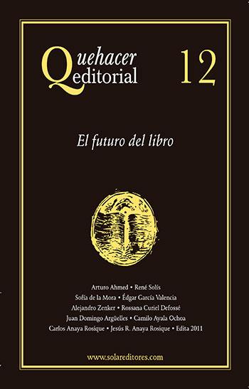 Quehacer editorial 12