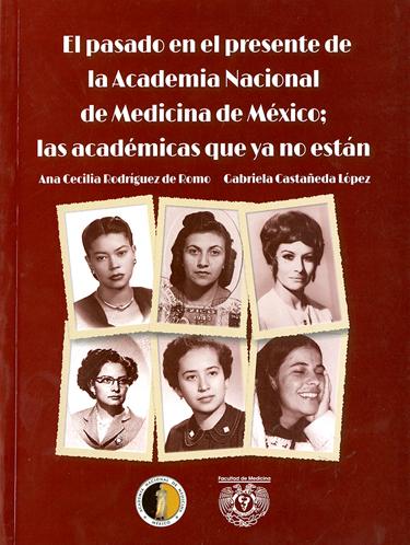 El pasado en el presente de la Academia Nacional de Medicina de México; las académicas que ya no están