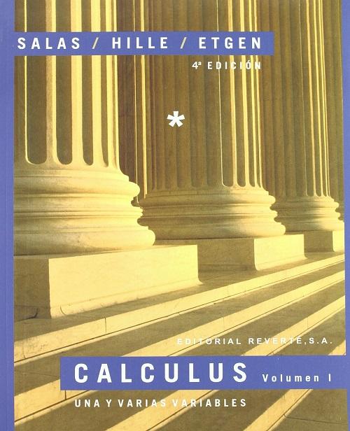 Calculus 4a.ed. Tomo I