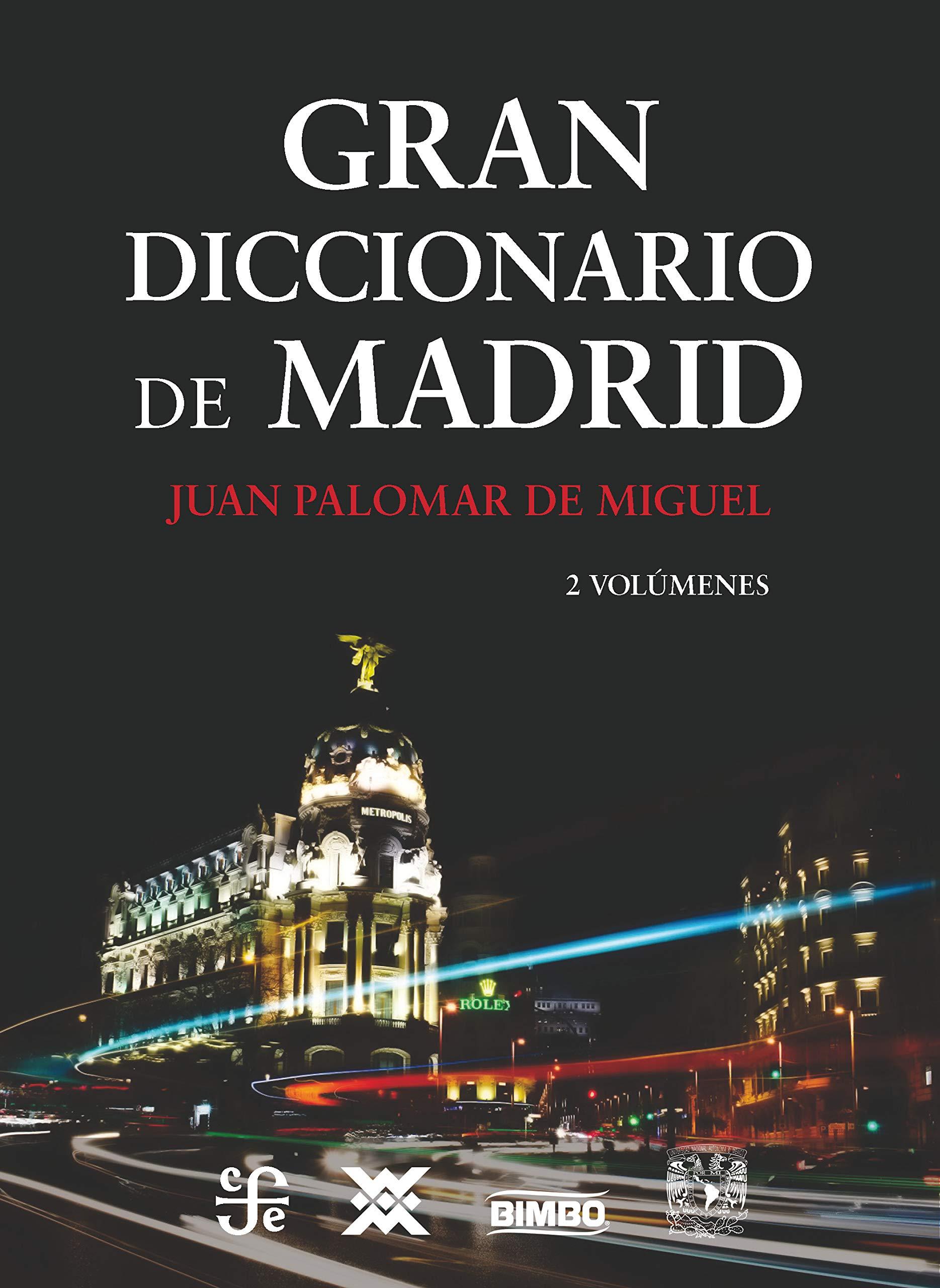 Estuche Gran Diccionario de Madrid, volúmen I y II