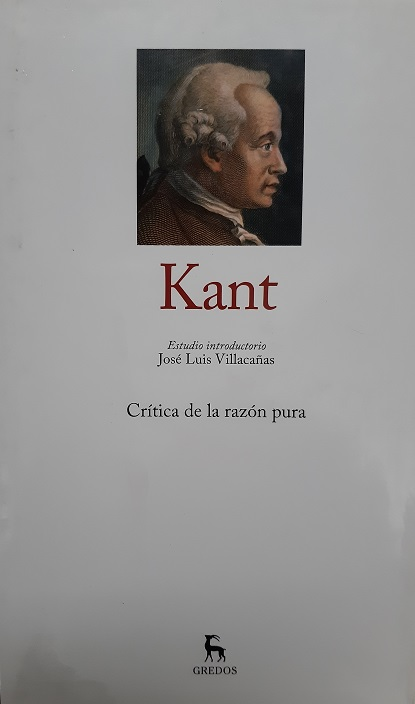 Kant. Crítica de la razón pura