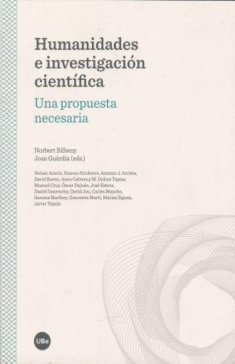 Humanidades e investigación científica. Una propuesta necesaria