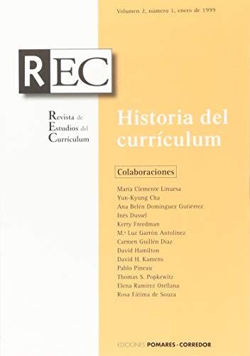 Historia del curriculum (rev)