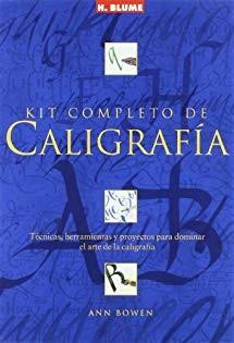 Kit completo de caligrafía