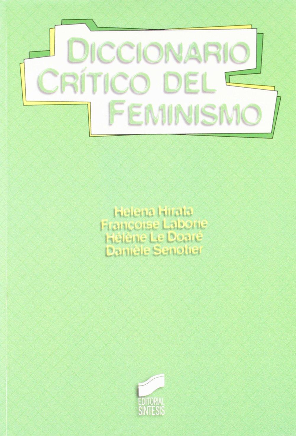 DICCIONARIO CRITICO DEL FEMINISMO