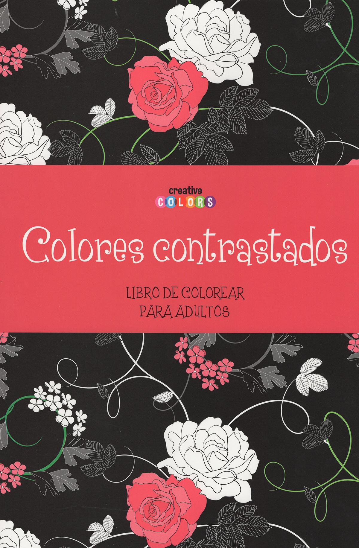 Colores contrastado, Colorear para adultos