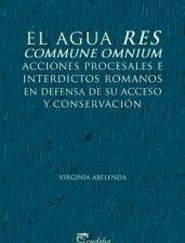 El agua res commune omnium. Acciones procesales e interdictos romanos en defensa de su acceso y cons
