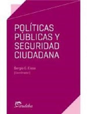 Políticas públicas y seguridad ciudadana