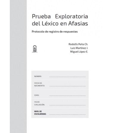 Prueba exploratoria del léxico en afasias. Protoco lo de registro de respuestas (SET 10 UNIDADES)