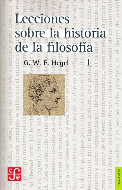 Lecciones sobre la historia de la filosofía, I