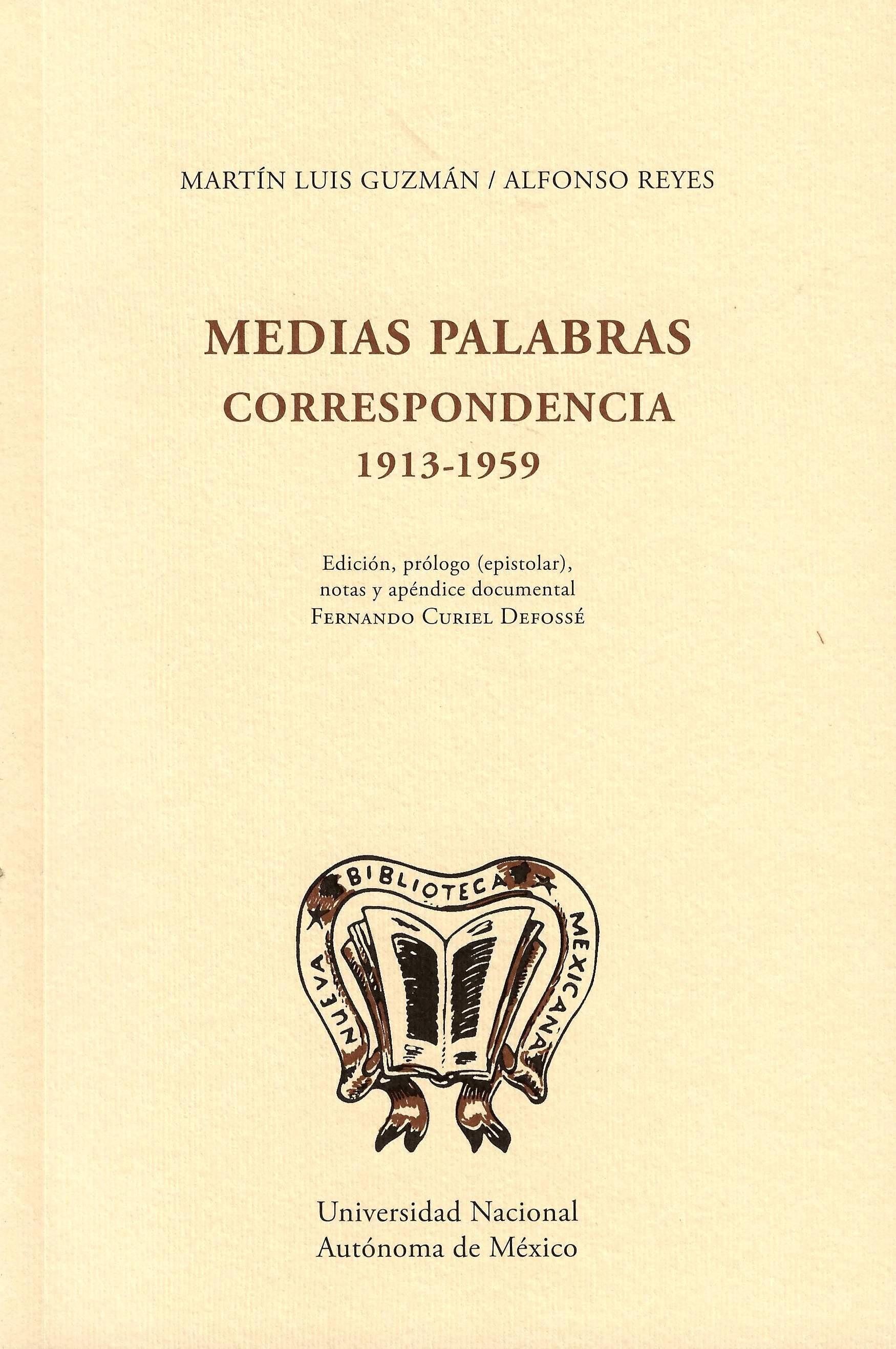 Medias palabras: correspondencia 1913-1959 (rústica)
