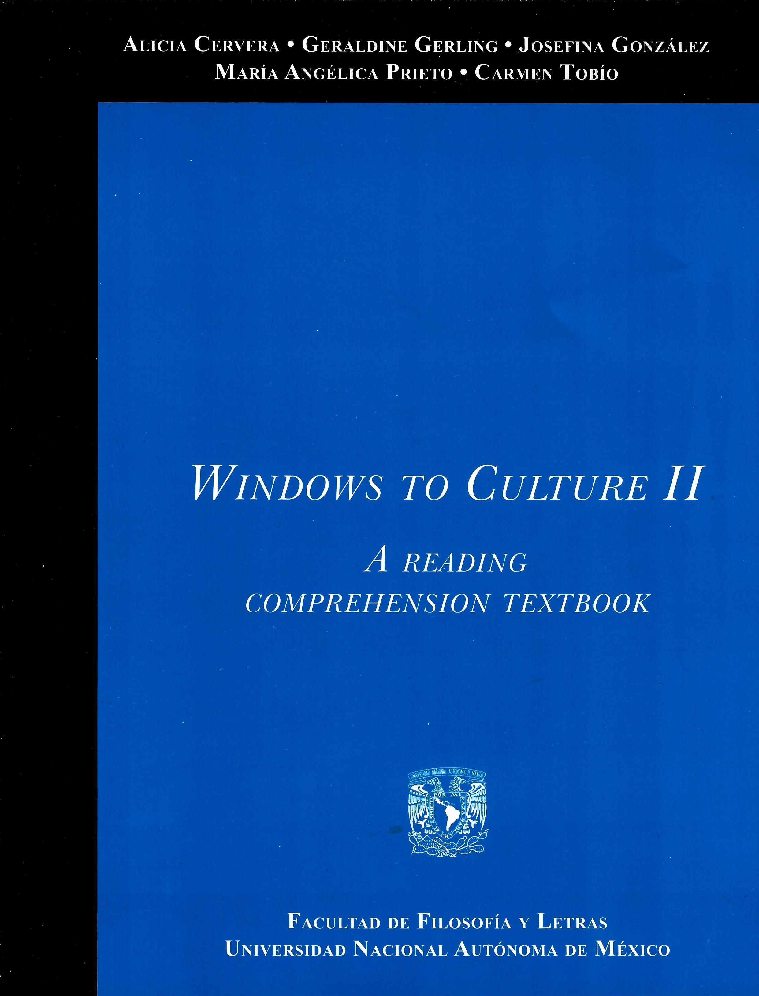 Windows to Culture II. A Reading Comprehension Textbook