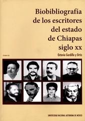 Biobibliografía de los escritores de Chiapas, siglo XX