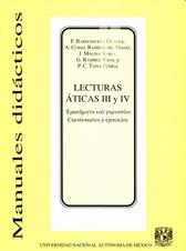 Lecturas áticas III y IV.