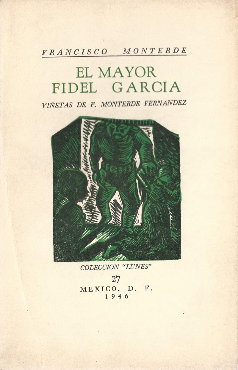 El mayor Fidel García  F. 27