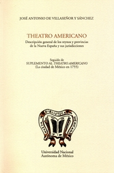 Theatro americano. Descripción general de los reinos y provincias de la Nueva España y sus jurisdicciones