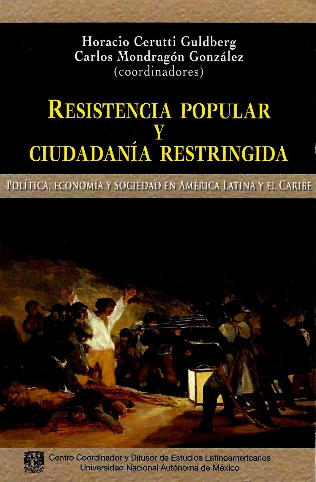 Resistencia popular y ciudadanía restringida