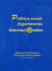 Política social. Experiencias internacionales