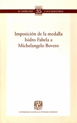 Imposición de la medalla Isidro Fabela a Michelangelo Bovero