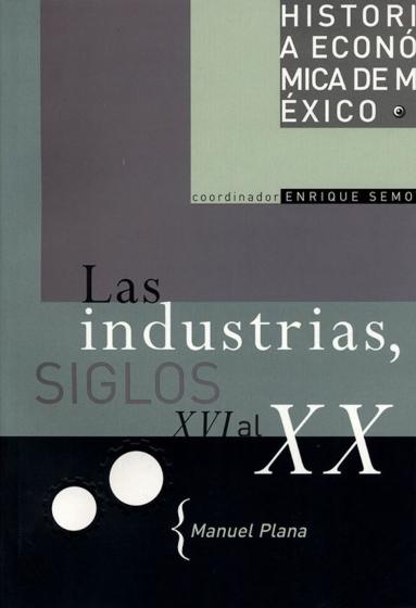 Historia económica de México, vol. 11. Las industrias siglos, XVI al XX