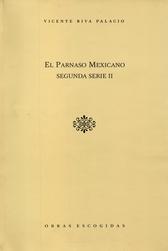 El Parnaso Mexicano segunda serie II Vol. XV