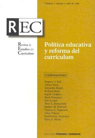Política educativa y reforma del curriculum
