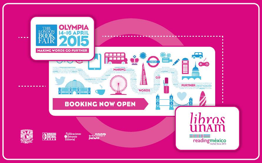 Libros UNAM en The London Book Fair 2015