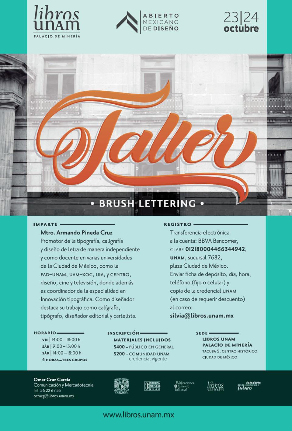 Taller Brush Lettering