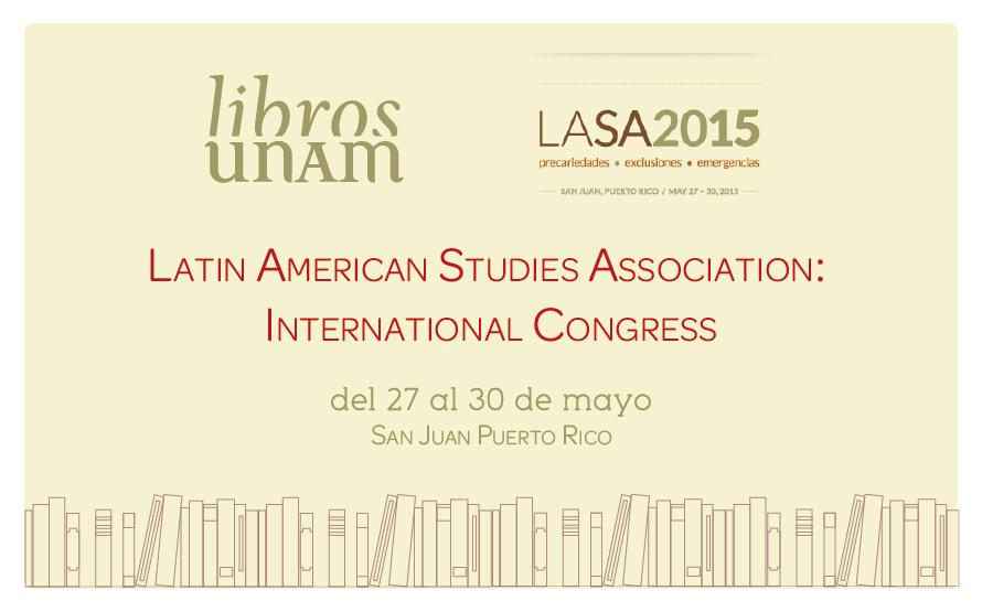 Libros UNAM participa en la cumbre LASA
