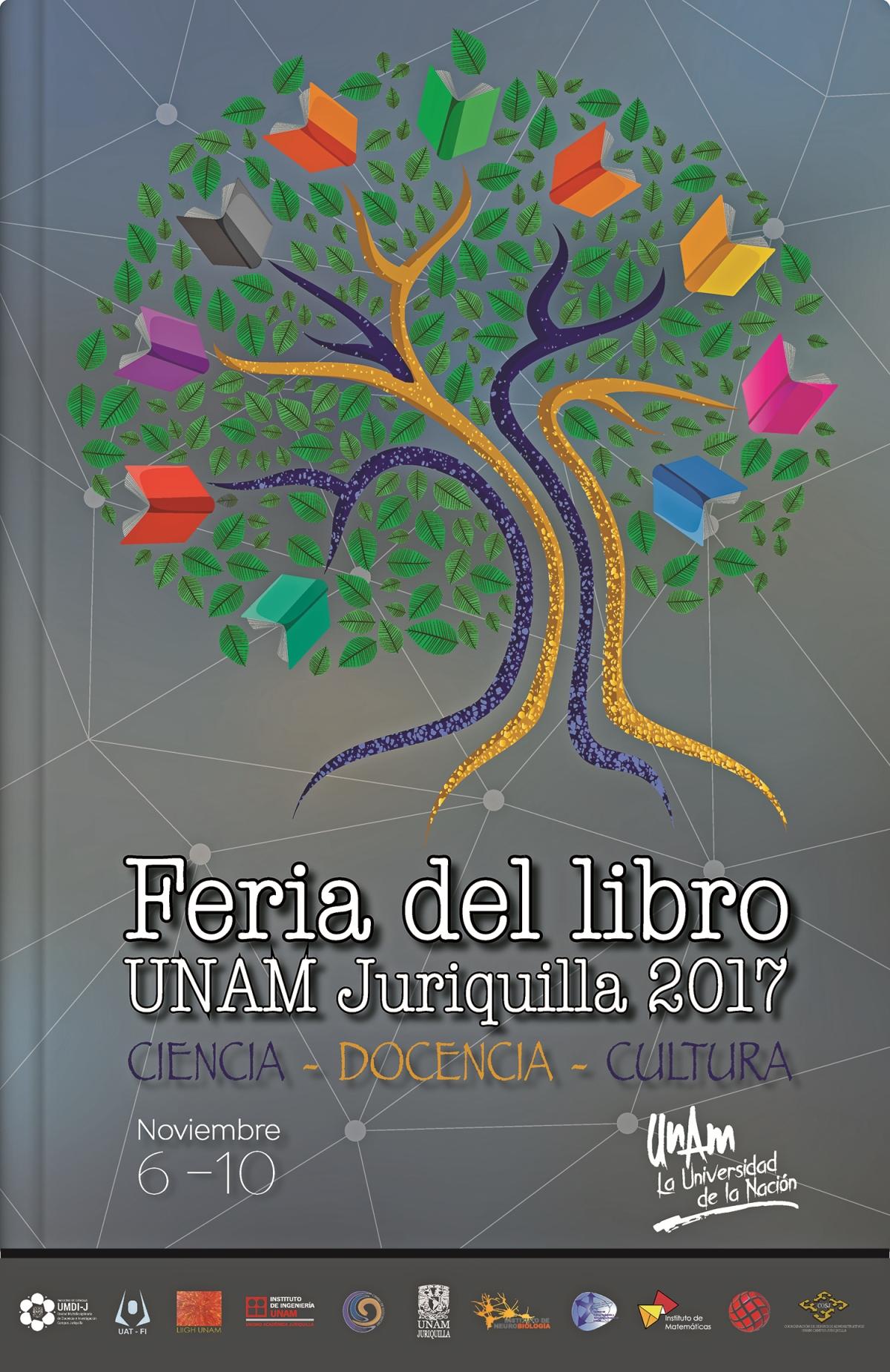 Organiza UNAM campus Juriquilla, Querétaro, su primera Feria del Libro