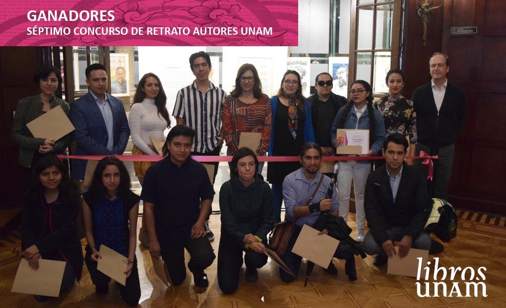 Séptimo concurso de retrato  Autores UNAM