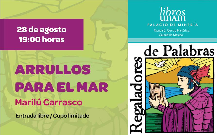 Regaladores de palabras, Marilú Carrasco